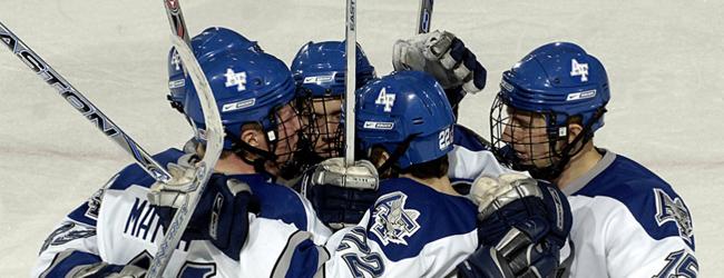 Team of hockey players